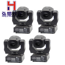 2016 New arrive 4pcs/lot china dj equipment led mini 60w beam moving head spot light double gobo wheels(China)