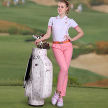 Brand PGM Golf PU Bag Set Standard Bag Waterproof Golf Caddy Bag Golf Training Equipments With 3 Colors For Choice(China)