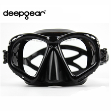 Supper Clear silicone scuba diving mask Top prescription nearsighted optical diving mask Adult snorkel gears diving equipment(China)