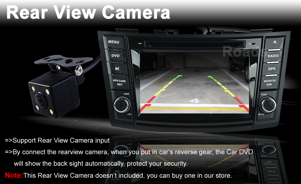 10rearview camera