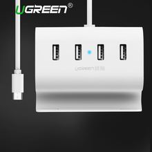 Ugreen USB C HUB 4 Ports Super Speed Type C Hubs with Power Supply Interface Type-c USB Splitter for Macbook USB-C Hubs