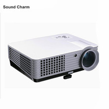 New arrival LED Projector Full HD 2000 Lumens Support Data Show TV Video Games Home Cinema Theater Video Projector HD 1080P(China)