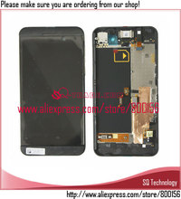 LCD Screen Display with touch screen digitizer and frame 3G version black  for Blackberry Z10 free shipping