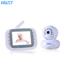 jlt-8035 Wireless 3.5 inch LCD Monitor Baby Video Monitor with Camera Baby Lullaby Remote Control PTZ Digital Video Camera Nanny(China)