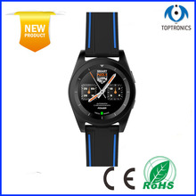 best selling in market G6 Smart Watch MTK2502 Bluetooth Waterproof SportS Smartwatch Clock with Heart Rate Monitor(China)