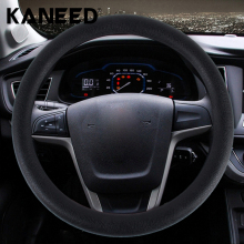 Brand  Crocodile Texture Universal Rubber Car Steering Wheel Cover Sets Four Seasons General