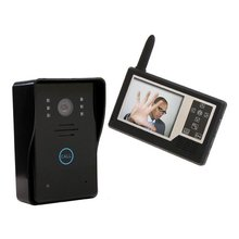 3.5 Inch Wireless Video Door Phone Wireless Intercom System Access Control System