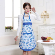Rose Bow Lace Waterproof Aprons Pinafore Chef Cooking Apron Kitchen  Home Accessories Gift 6ZA004