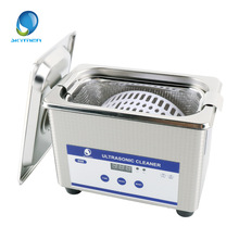 Digital Ultrasonic Cleaning Baskets Jewelry Watches Dental PCB CD 0.8L 35W 40kHz Ultrasound Mini Ultrasonic Cleaner Bath(China)