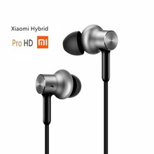 Newest Original Xiaomi Hybrid Pro HD In Stock Earphone with Mic Remote Headset for Xiaomi Redmi Red Mi Mobile Phone In-Ear(China)
