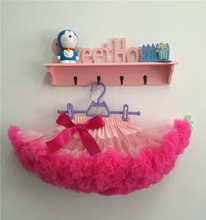 Baby Girls Vintage Pink pettiskirt, tutu, girls tutu, petticoat, newborn hot pink tutu(China)