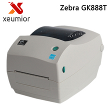 Zebra Printer Gk888T Thermal Transfer Barcode Label Machine Support 1D & 2D Barcode Printing Clothing Tag Jewelry Label Hot Sell(China)