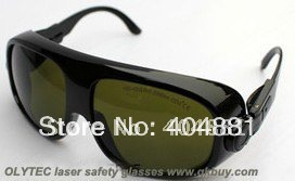 laser safety eyewear 190-450nm &amp; 800-2000nm O.D 4 + CE Certified High VLT% for blue laser and IR808,980nm,1064nm lasers<br>