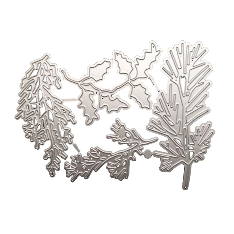 Leaves Scrapbooking Metal Cutting Dies DIY Cards Making Embossing Craft Dies