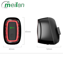 Meilan X6 rechargeable Bike tail Light Bicycle rear back led back lamp lantern For Cycling MTB Bike Accessorys