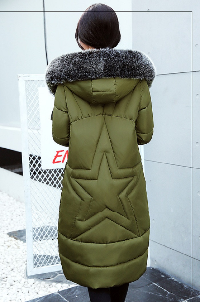 2017 Winter Women Coat Thicken Warm Long Jacket women coat girls long slim big coat jacket Down Parka+31 (2)