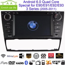 "Android 6.0.1 Quad Core GPS Navigation 7"" Car DVD Player for BMW E90/E91/E92/E93 3 Series 05-11 with Radio/RDS/USB/SD/3G/Canbus"