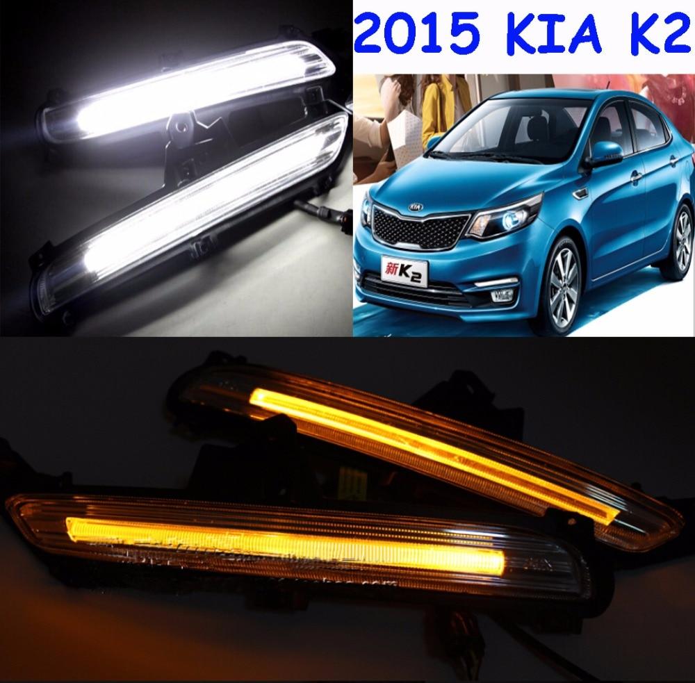 2015~2017 KIA K2 daytime light,kia rio,Free ship to your door!LED,KIA k2 fog light,kia ceed,2ps/set;kia k3;kia cerato<br><br>Aliexpress
