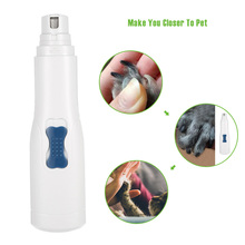 Pet Nail Grinder Electric Nails Grooming Tool Pet Nail File Gentle Paws Grinding Clipper Trimmer for Dogs Cats(China)