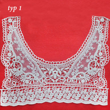 summer white embroidery sew tube top accessories,strapless bra applique patches lace fabric,household clothing mesh lace cloth