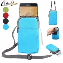 Outdoor Nylon Pouch Case for Samsung Galaxy S7 Active , J1 Mini , J3 Pro , Sol 4G , Amp Prime / Express Prime Phone Wallet Bag