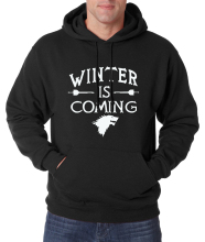 hot sale 2016 autumn winter new Game of Thrones Winter Is Coming men sweatshirts hoodie fleece hooded men fashion brand clothing