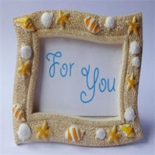 100pcs/Lot+Beach Themed Wedding Favors 'Seaside' Sand and Shell Place Card Holder Starfish Picture/Photo Frame+FREE SHIPPING