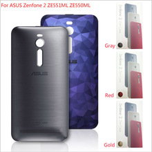 100% Genuine Original Door Back Cover Battery Cover Housing Case with NFC For ASUS ZenFone 2 ZE551ML ZE550ML with retail packge