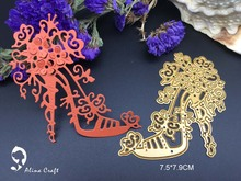 Metal cutting dies flower high-heeled shoes Scrapbook card  paper craft home decoration embossing stencil cutter