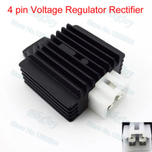 12V 4 Pins Voltage Regulator Rectifier For 50cc 70cc 90cc 110cc 125cc Quad ATV Go Kart Moped Scooter Pit Dirt Bike Motorcycle