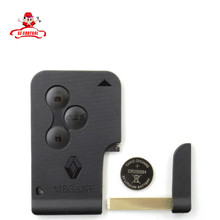 TOP RATED!!!New RENAULT MEGANE 3 SCENIC II CLIO ETC RF TYPE 3 BUTTON REMOTE ALARM KEY FOB CARD