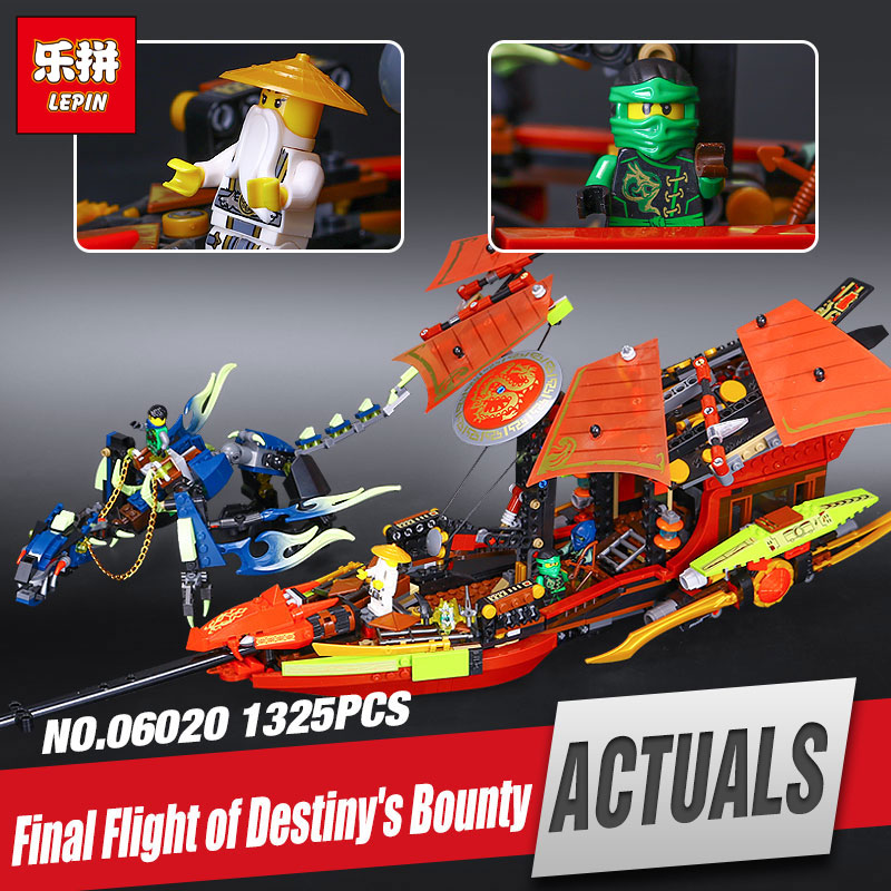 Lepin 06020 NEW Nexo Knights Series Final Fight of Destinys Bounty set Children Building Blocks LegoINGys Funny Toys 10402<br>