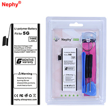 2017 Nephy Original Battery For iPhone 5 iPhone5 1440mAh Mobile Phone Batterie Retail Package Free Tools In Stock Tracking Code(China)