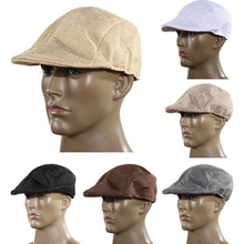 Golf ball baseball cap fishing hat visor Hat Cap Sun Hat Mens Vintage Flat Cap Peaked Racing Hat Beret Country Golf Newsboy(China)
