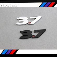 Free shipping High-quality 20 pcs 3D METAL 2011-2014 for Mustang V6 3.7 Liter silver & Red Fender Emblems car-styling