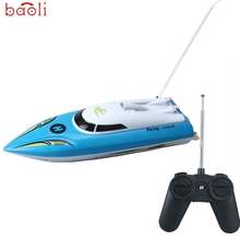 BAOLI Modern 10 inch RC Boat Radio Remote Control RTR Electric Dual Motor Toy Hot Mar30