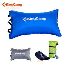 KingCamp Camping Pillow Portable Self-Inflating Pillow for Camping Ultra-light Outdoor Travelling Pillows for Hiking Trekking(China)