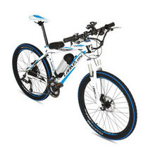 tb310906/Mountain electric bike 36 / 48v26 inch aluminum alloy lithium electric bicycle 27 speed electric car(China)