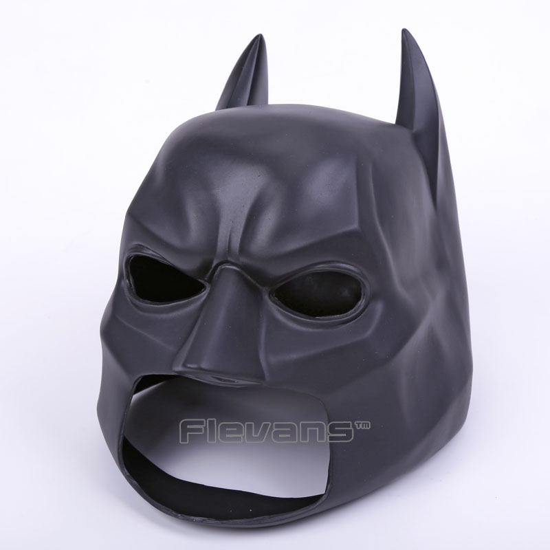 High Quality Black Batman Figure Toy Latex Full Face Mask Adult Superhero Bruce Wayne Party Props Costume Cosplay Rubber Masks<br><br>Aliexpress