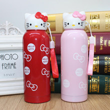 Cute kitty Thermos Vacuum Cup Stainless Steel Termos Bottle Thermal Bottle Travel Thermos cup Cartoon Thermocup