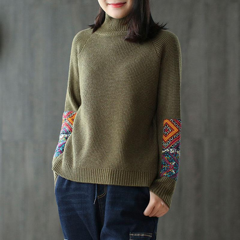 New_Half_Turtleneck_Long_Sleeve_Patchwork_Sweater_5_800x