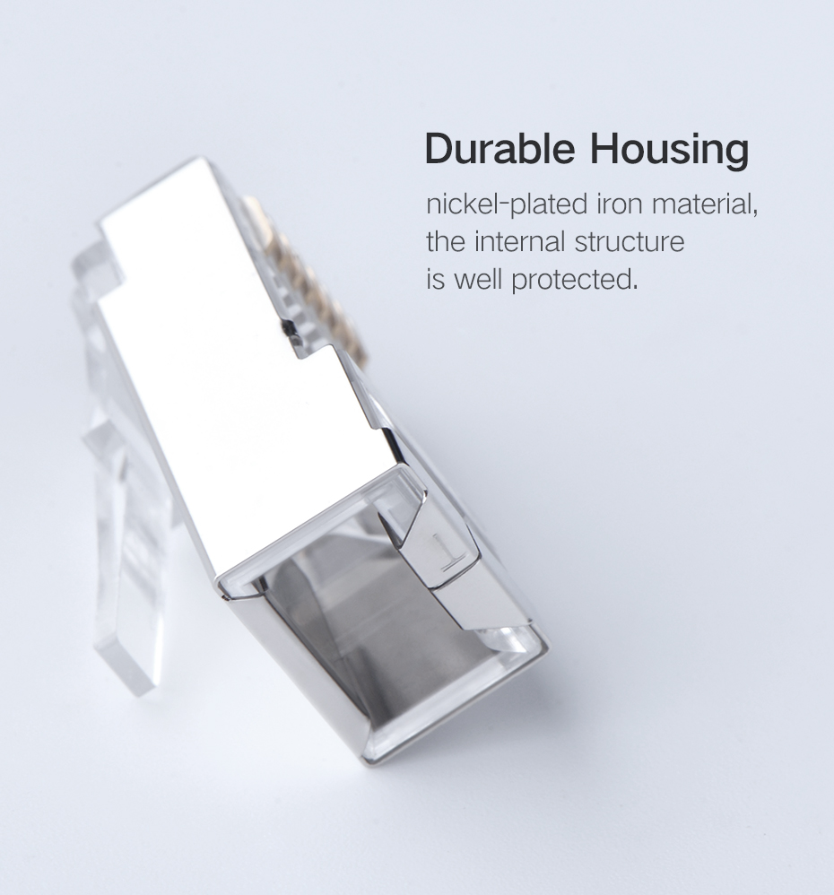 Ugreen Cat6 Rj45 Connector 8p8c Modular Ethernet Cable Head Plug Jack Wiring The Laptop Cables Of High Quality Is Important For Us Nowadays We Need Cheap Computer Electricity And Internet Connection Pc Power