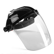 New Transparent Lens Anti-UV Anti-shock Welding Helmet Face Shield Solder Mask Face Eye Protect Shield Anti-shock(China)