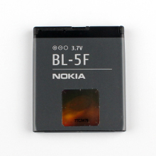Original Nokia BL-5F phone battery for Nokia N96 N95 N98 N93i 6290 E65 6290 6210S/N 6710N N95 C5-01(China)