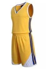 Blank Basketball Suit Team Name Logo Custom Usa Basketball Yellow Throwback Cheap Sleeveless Basketball Uniforms
