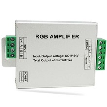 12-24V 24A LED RGB Amplifier For RGB LED Strip Power Repeater Console Controller (D6)
