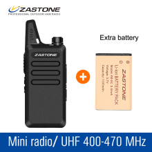 Zastone X6 Mini Children Walkie Talkie Kids UHF 400-470MHZ Radio Portable CB Radio Communicator Handy Radio Transceiver+Battery