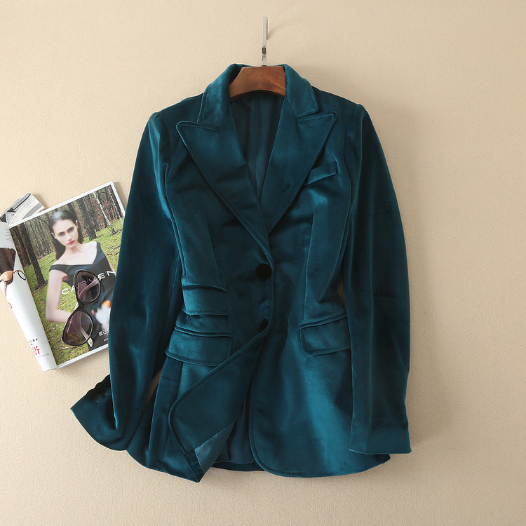 Forest Green Blazer Women Promotion-Shop for Promotional Forest ...