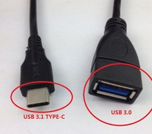 DHL free. 50pcs/lot.. 1 meter .Type-C to USB 2.0 female or USB3.0 female.  For U flash. notebook.etc.