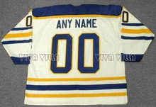 Ice Hockey Jersey Customized Any Name Any Number High Quality Stitched Logo Throwback Jersey 39 Ryan Miller Hockey Jersey S-4XL(China)